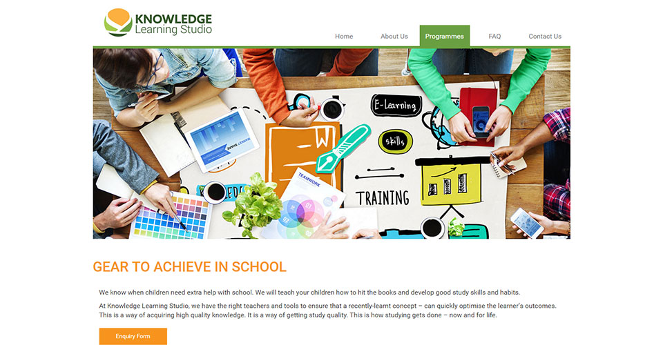 Knowledge Learning Studio Website